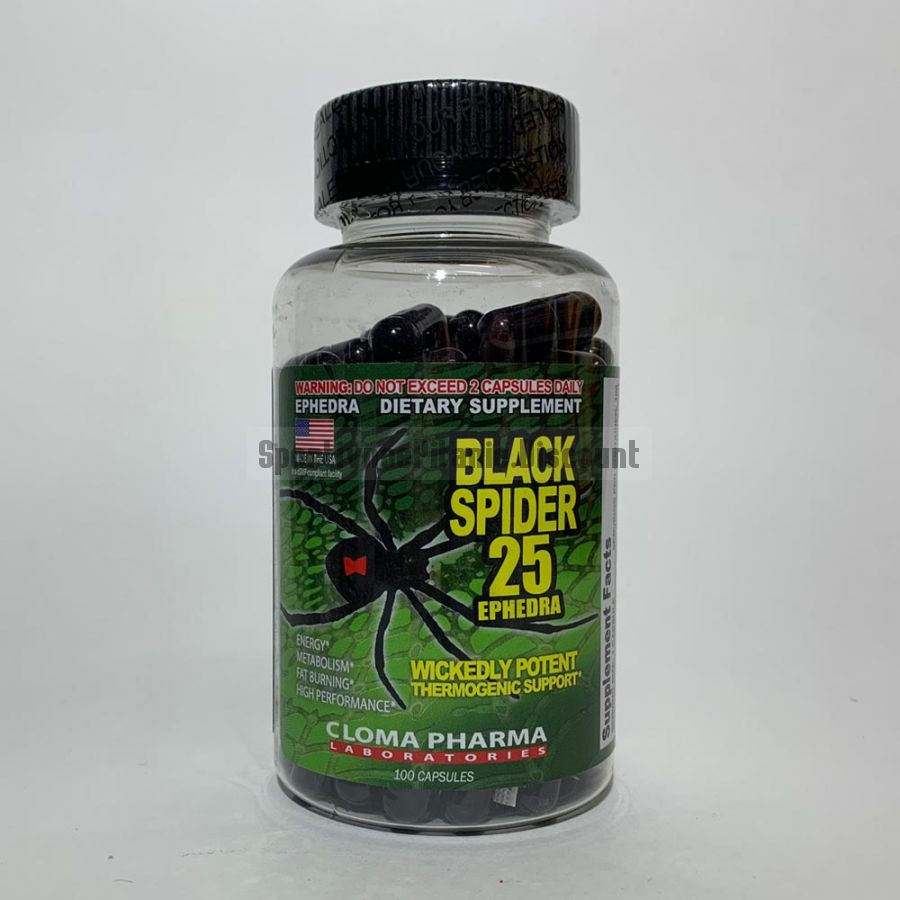 Black Spider (Cloma Pharma) 100 caps