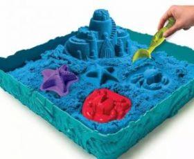 Кинетический песок в контейнере 1кг