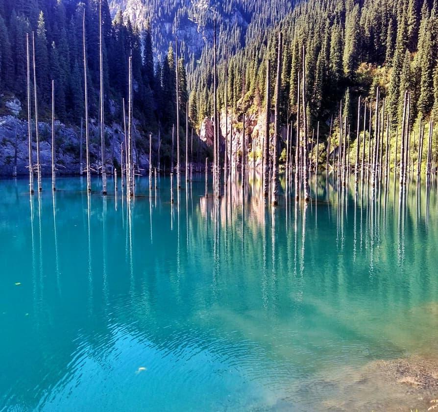 Озера Кольсай и Кайынды