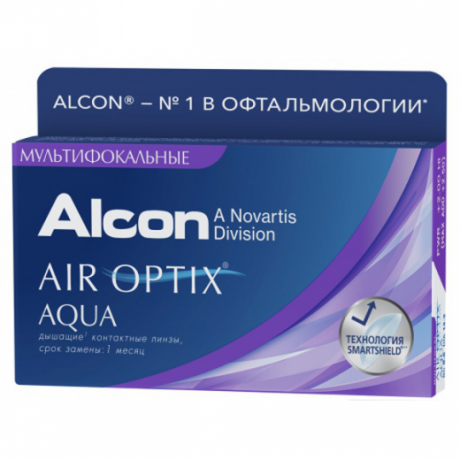 Air Optix Aqua multifocal 3 pk.