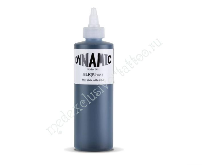 Краска Dynamic Colors черный 240мл (США) Оригинал
