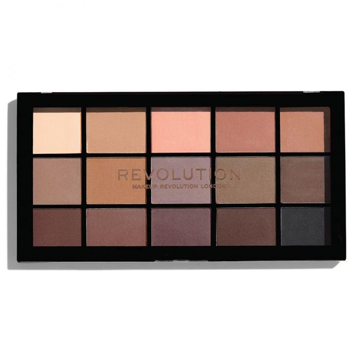 Revolution Makeup Палетка теней Makeup Revolution Re-Loaded Palette Basic Mattes