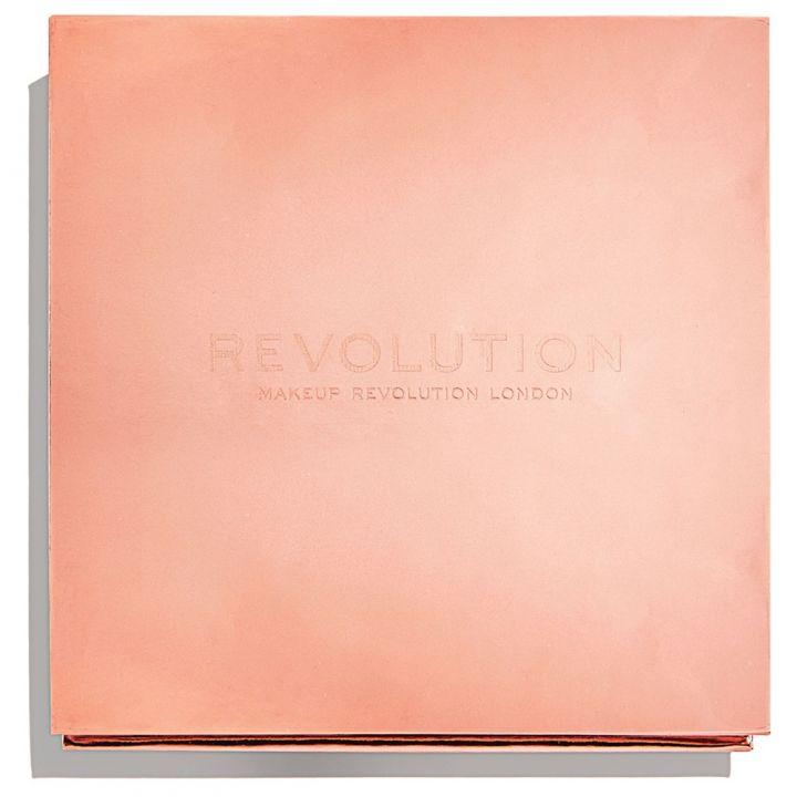 Revolution Makeup Палетка хайлайтеров Face Quad, Ignite