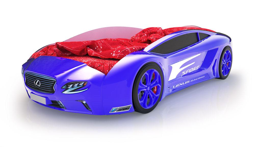Пластиковая кровать-машина Ламборджини