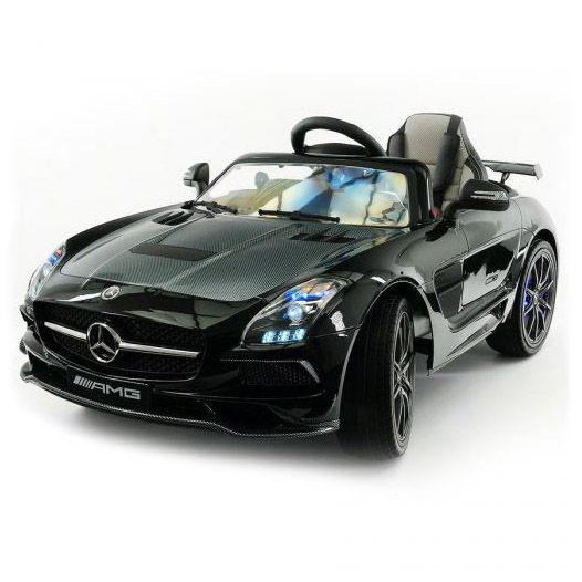 Электромобиль Mercedes-Benz SLS AMG - Черный - Карбон