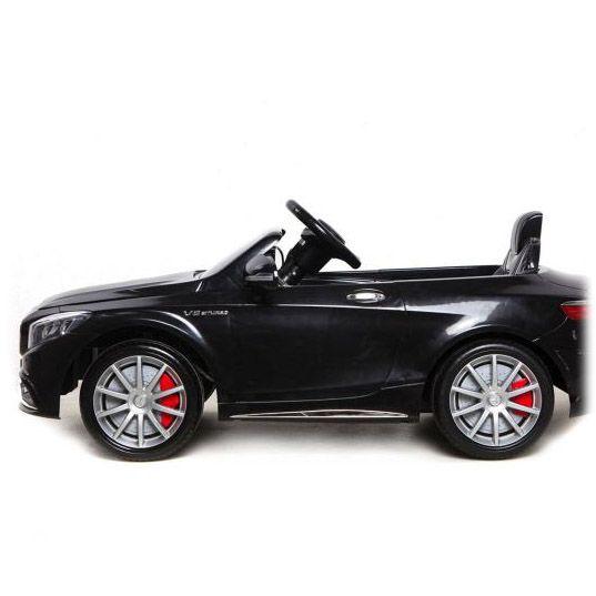 Детский электромобиль Mercedes Benz S63 LUXURY 2.4G - Черный