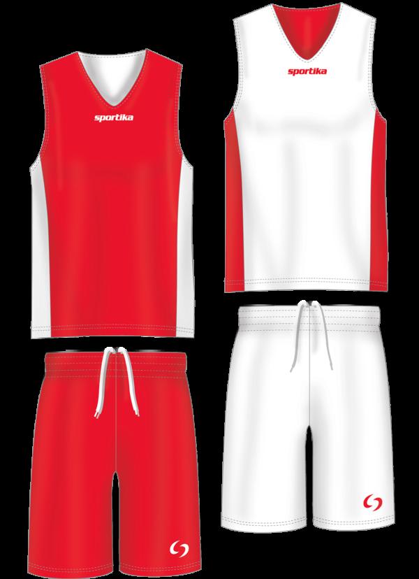 Форма баскетбольная двусторонняя Sportika Assen Set