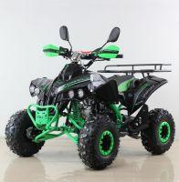 Квадроцикл подростковый бензиновый MOTAX ATV Raptor Lux черно-зеленый вид 1