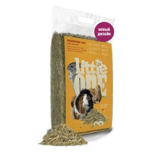 Горное сено LITTLE ONE с ромашкой непрессованное, 0,4 кг