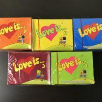 """LOVE IS"" жевательная резинка"