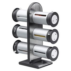 Набор для Специй Wall Mounyed Magnetic Spice Rack