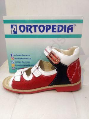 738 Ortopedia Сандалии (26-30) в красном цвете