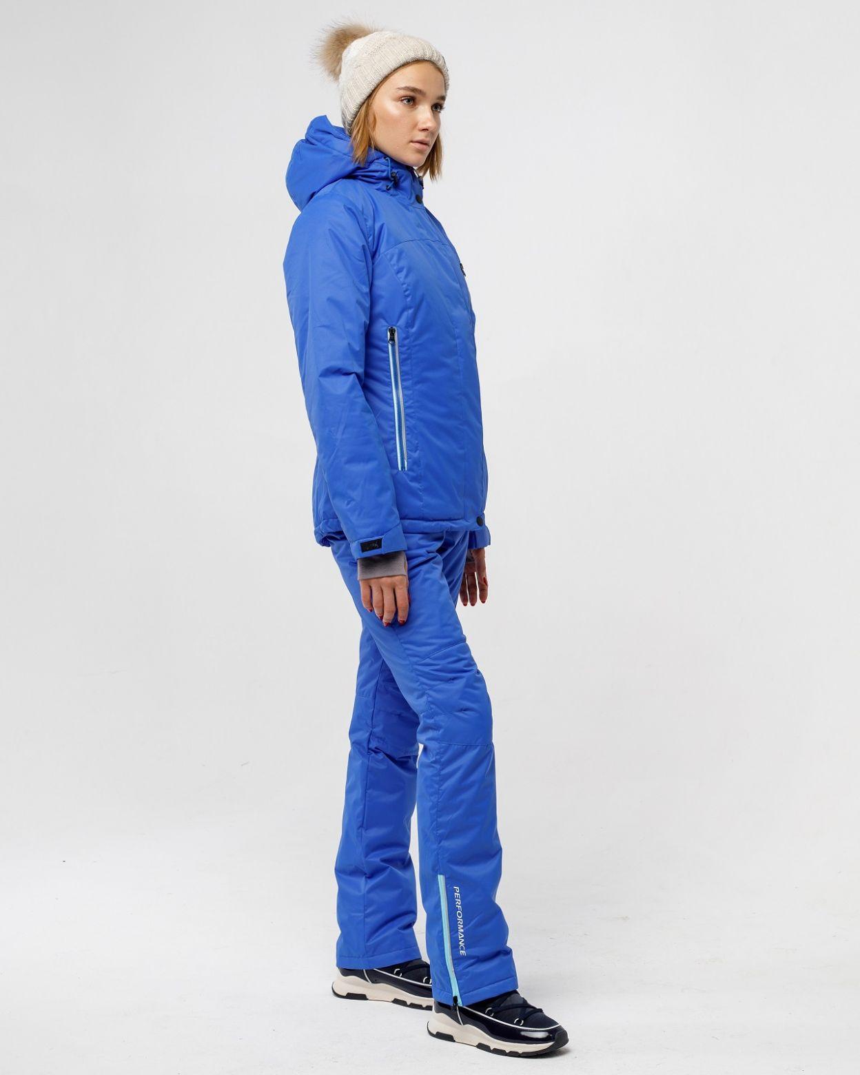 Зимний женский костюм ультрамарин HEIDEN вид3