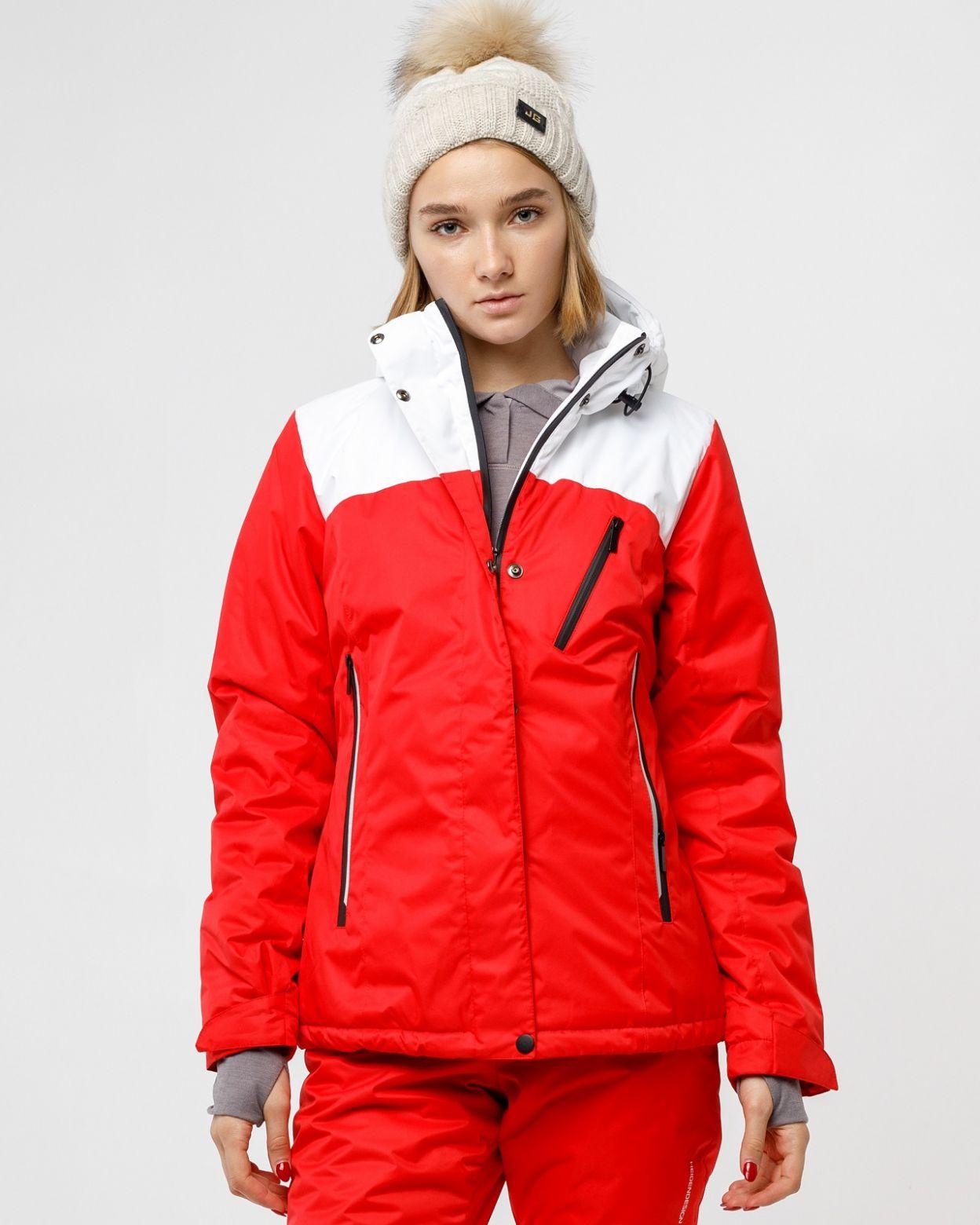 Зимний красный костюм HEIDEN вид2