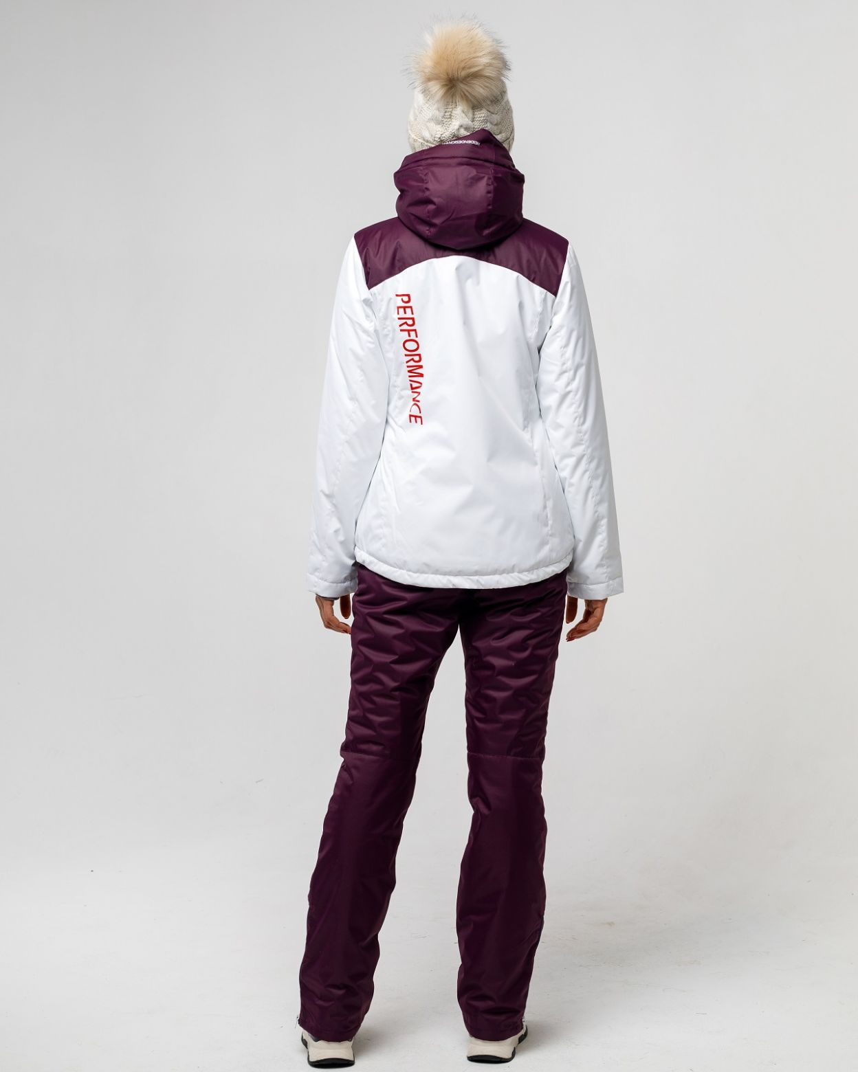 Зимний белый костюм HEIDEN вид5