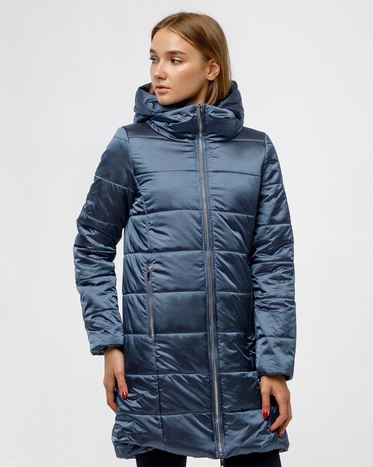 Пальто женское HEIDEN цвет серо-синий вид2