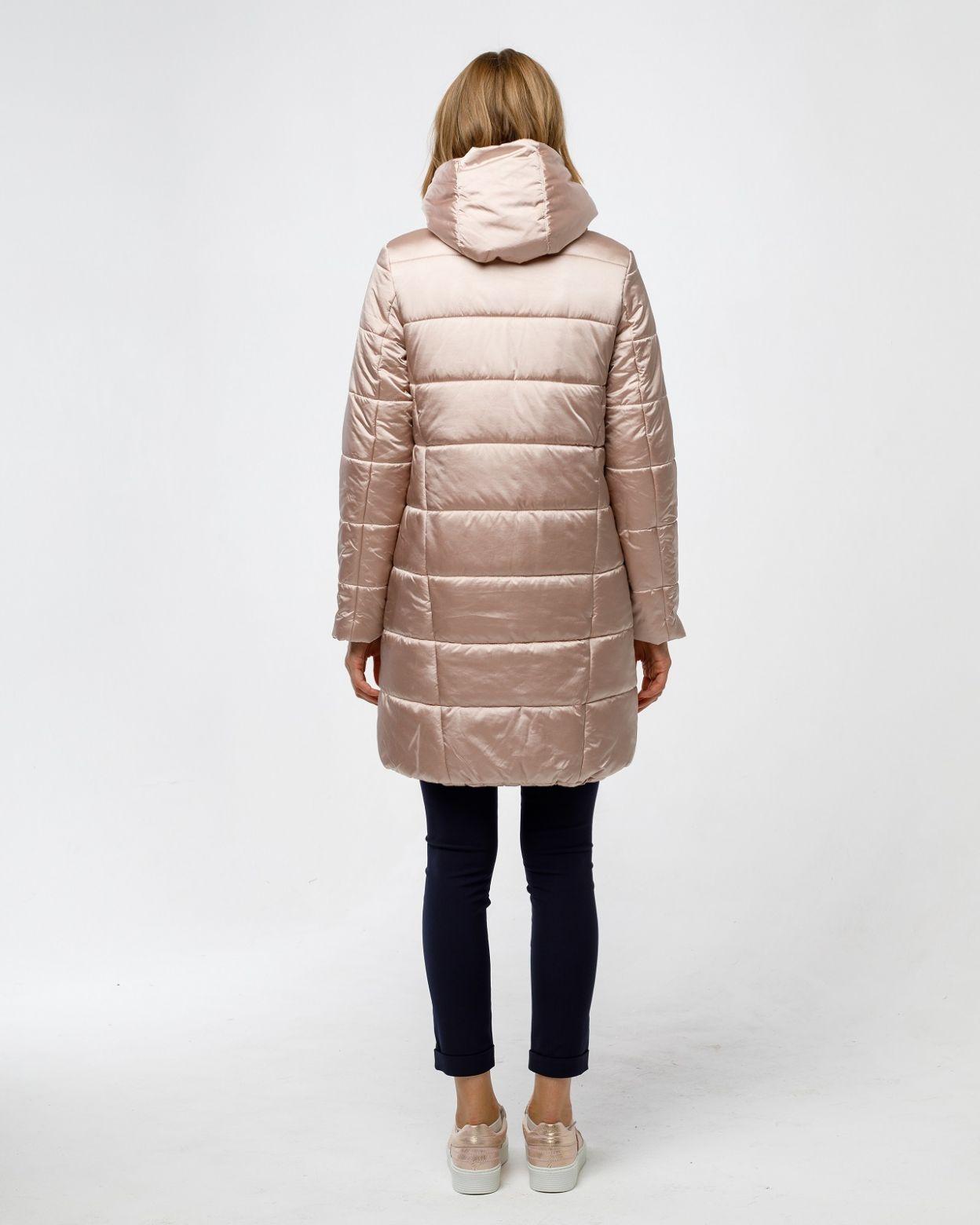 Пальто женское HEIDEN цвет dusty rose вид5