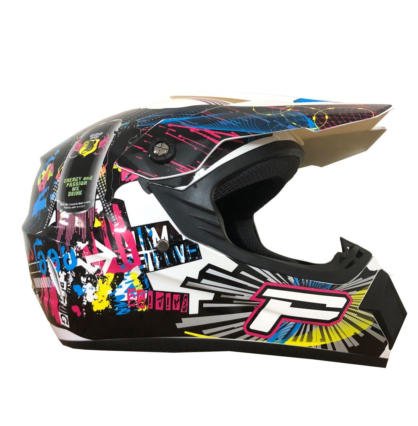 Шлем кроссовый Tiane Progrip Star