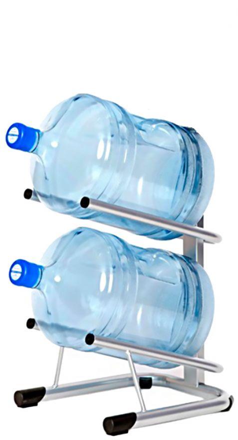 Стеллаж - подставка для 2 бутылей