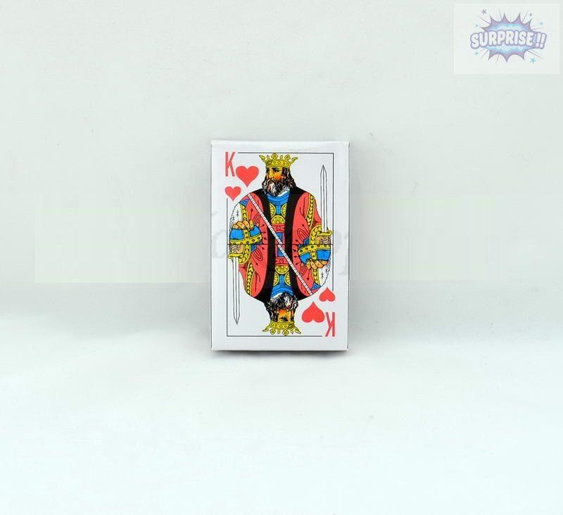 Карты игральные, бумажные  54 листа (№9810)