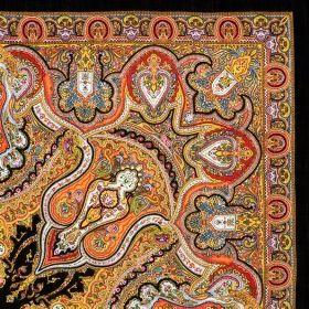 Платок павлопосадский 146*146 см Испанский [18]
