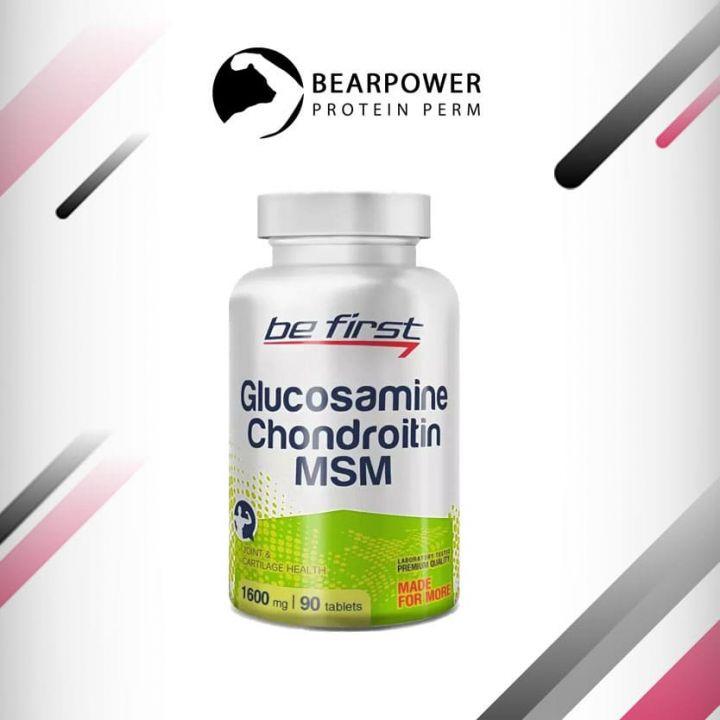 Glucosamine Chondroitin MSM 90 таблеток, Be First