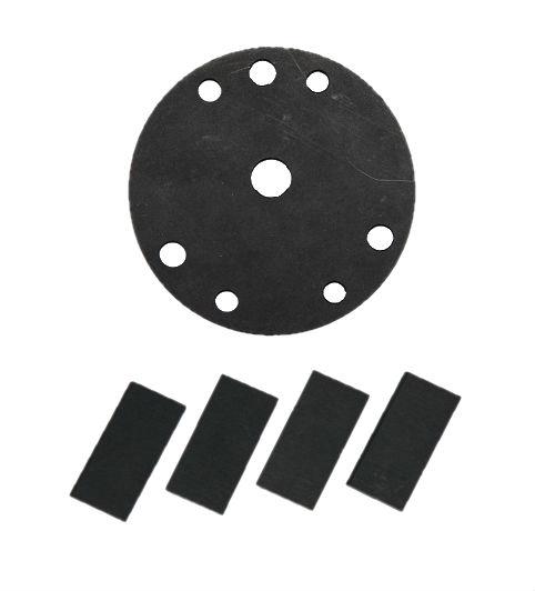 Комплект для обслуживания компрессора EL 140  (лопатки 4 шт, пластина 1 шт.)
