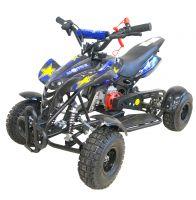 Детский квадроцикл бензиновый MOTAX ATV H4 Mini 49 сс Чёрно-синий 1