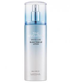 Missha Time Revolution White Cure Blanc TONE-UP Lotion 130ml - Омолаживающий осветляющий лосьон
