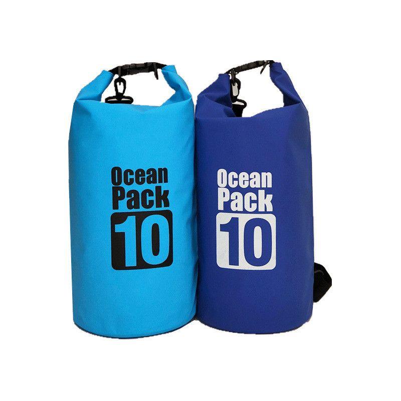 Водонепроницаемая сумка-мешок Ocean Pack, 10 л