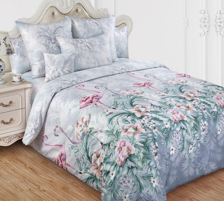 Фламинго 2 постельное белье сатин