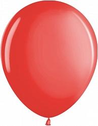"Шар (12""/ 30 см, красный, металлик, 100 шт"