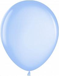"""Шар (12""""/ 30 см, голубой, металлик, 100 шт"""