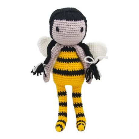 Игрушка вязанная  Кукла Мэдисон