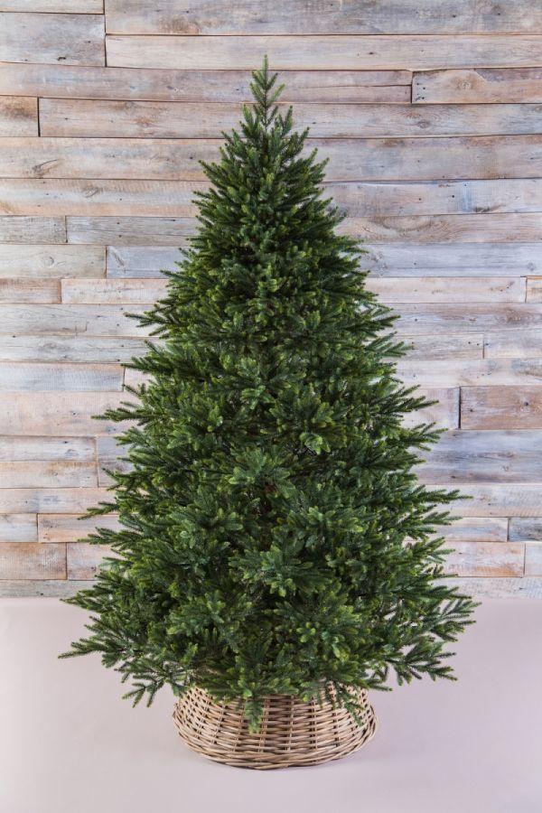 Искусственная елка Королевская премиум full PE 155 см зеленая