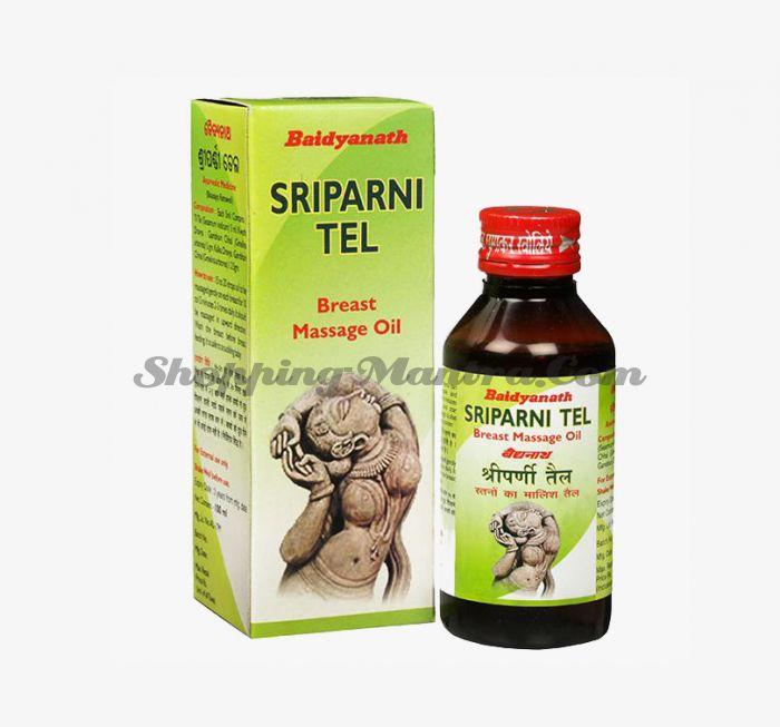Шрипарни массажное масло для груди Байдьянатх | Baidyanath Sriparni oil