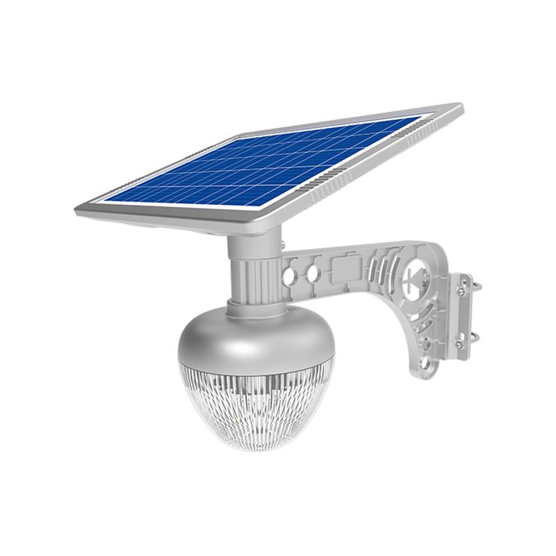 Уличный светильник 10Вт 533Лм на солнечной батарее с датчиком движения Golden Apple Light Blue Carbon