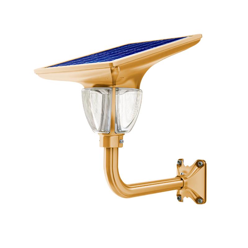 Уличный светильник 7Вт 660Лм на солнечных батареях Lotus Light 1.0 Blue Carbon