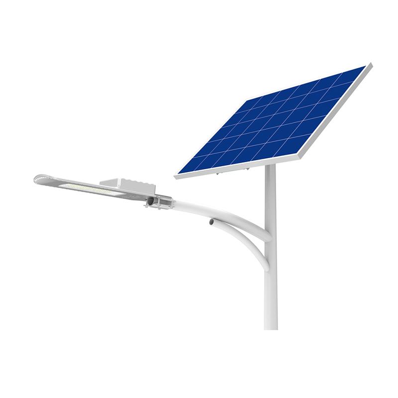 Уличный светильник 30Вт 3200Лм на солнечных батареях Sword Light Blue Carbon