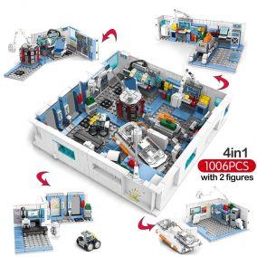 Конструктор Lego сити космическая станция