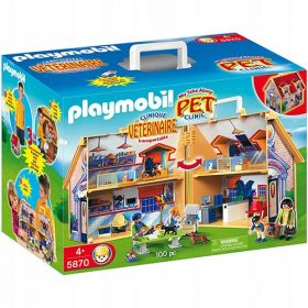 Набор Playmobil 5870 Клиника животных Дом