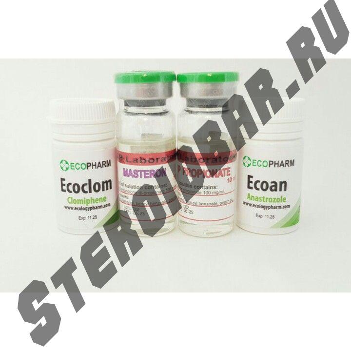 Курс Мастерон + Тестостерон пропионат