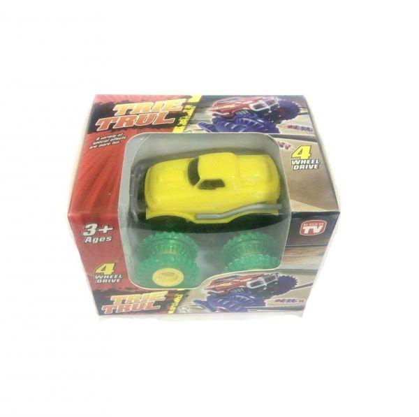 Машинка Монстр-трак Trie Trul (желтая)