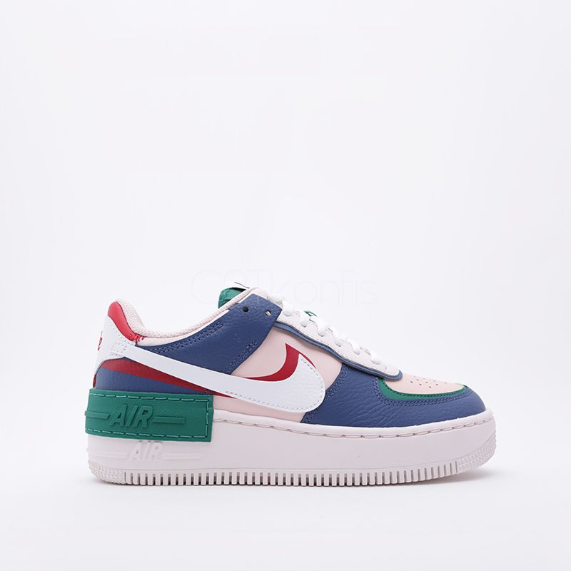 Nike Air Force 1 Shadow R/B/G