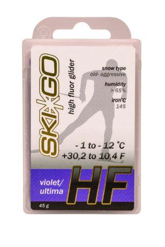 парафин skigo hf violet высокофтористый -1/-12 45 gr