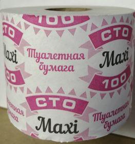 Туалетная бумага Maxi 100
