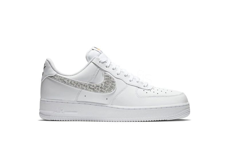 Nike Air Force 1 Low Just Do It Pack White