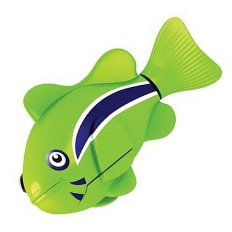 Интерактивная игрушка Роборыбка Клоун (Robo Fish), зеленая