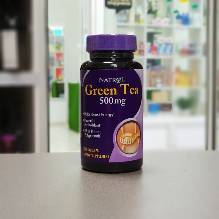Natrol - Green Tea 500 мг (60 капс.)