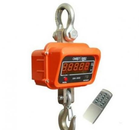 Крановые весы электронные ВЭК-5000 (5000кг)